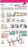 Vim Airlines Boeing 757-200 Safety Card