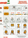 MyAir Bombardier CRJ900 Safety Card